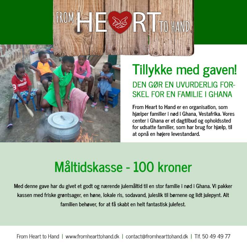 Donation - Måltidskasse