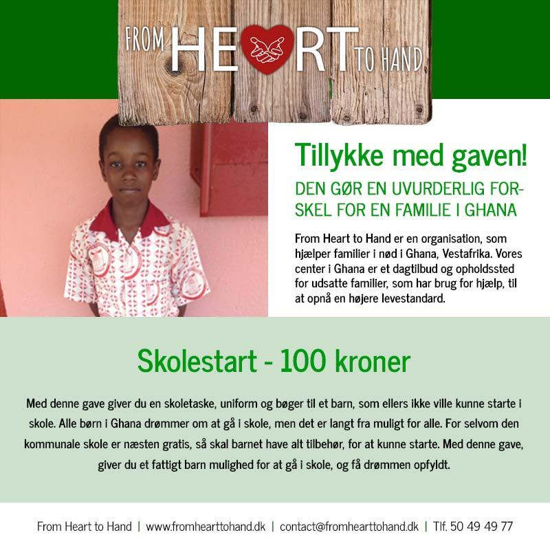 Donation - Skolestart