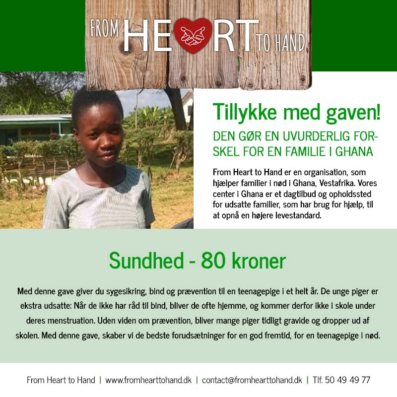 Donation - Sundhed